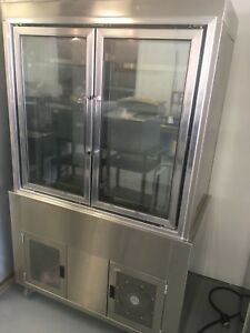 Kevry Refrigerated Glass Display Case