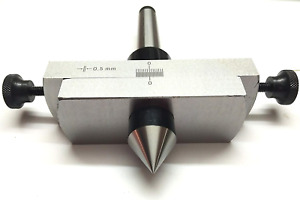 Taper Metal Turning Attachment In 3mt Shank For Off setting Lathes Tailstock