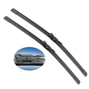 Pair 28 Front Windshield Wiper Blade For Ford Escape 2013 2018 Flat Wiper Blade