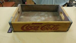 Vintage Drink  Coca Cola Wood Crate Drink Coca Cola Southern Wooden Box