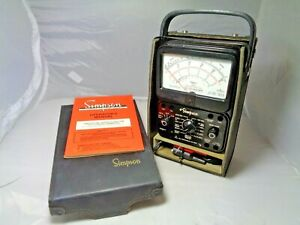 Vintage Simpson 260 Series 7 Volt ohm milliammeter Vom Analog Test Meter
