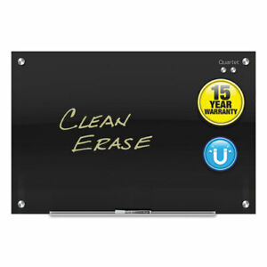 Infinity Black Glass Magnetic Marker Board 72 X 48