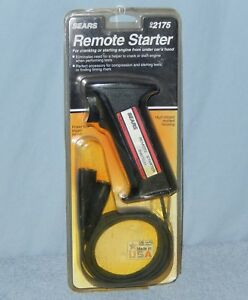 New Vintage Sears Engine Remote Starter Switch Trigger Model 2175 Made In Usa