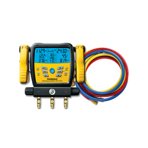 Bundle Fieldpiece Sm380v Wireless 3 port Sman Manifold Gauge W Yj 29985 Hoses