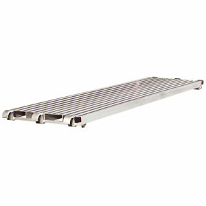 Pro series 7 Ft Aluminum Scaffold Walk Board