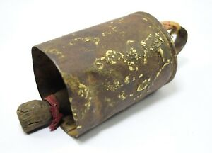 Vintage Indian Collectible Iron Rustic Cow Bell Music Farm Decorative I9 131 Us