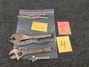 4 Craftsman Locking Pliers Adjustable Needle Nose Wrench 4 8 44603 44601 Usa