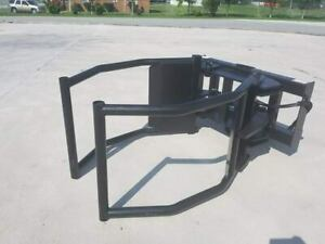 Extreme Round Hay Bale Squeezer grapple For Skid Steer tractor Loader