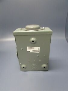 New Square D 30 Amp General Duty Safety Switch 240 Vac v 50 60hz D221nrb