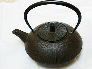 Japanese Cast Iron Teapot Signed