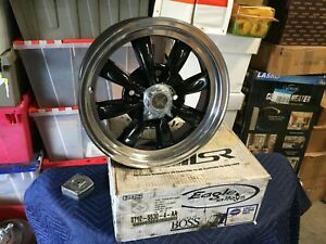 1 New Eagle Alloys Wheel Black Spoke 15 X 5 5 Wide