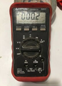 Amprobe True Rms Am56 Digital Multimeter