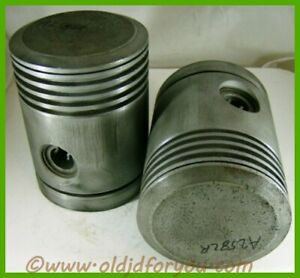 A2582r Aa4336r John Deere A Ar Ao 045 Pistons With Wrist Pins And Keepers Usa