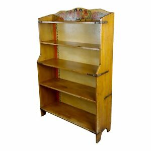 Monterey Original 1930s Painted Bookstand Signed