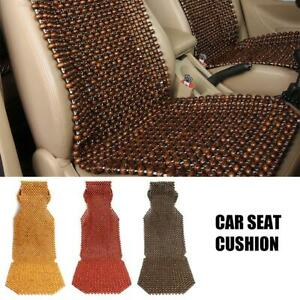 Wooden Beads Car Seat Cushion Therapy Massage Padded Auto Pad Cover 45 X 130cm