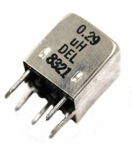 Del 8321 0 29 h Shielded Variable Inductor Lot Of 1 3 10 Or 25
