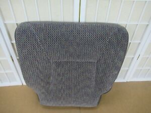 98 03 Bmw M5 E39 Oem Interior Rear Back Seat Black Sport Leather Complete 5 Pc