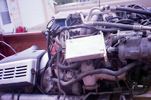 Corvette 350 L98 Motor And Trans Water Pump To Drive Shaft