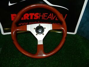 Used Grant Steering Wheel With Hub And Horn Button For Porsche 944 83 86 944 Ph