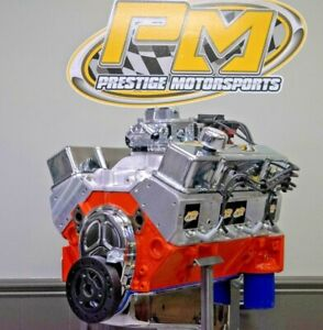 383 Small Block Chevy Stroker Crate Engine 400hp 470tq Complete Turnkey