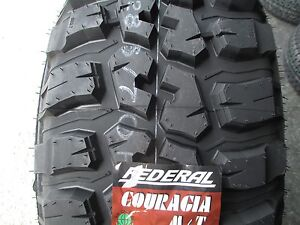 4 New 35x12 50r15 Federal Mud Tires 35125015 35 1250 15 12 50 R15 M t