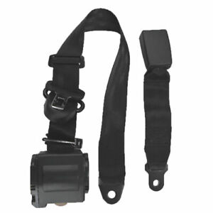 Retractable Shoulder Seat Belt For Jeep Cj Yj Wrangler 82 1995 3 Point Front New
