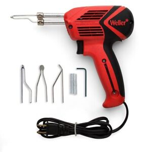Weller Universal Soldering Iron Gun Kit 120v Dual Heat 140 100w With Led Light