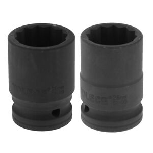 20 35mm6 Point Single Hex Socket 12 Point Deep Impact Socket 55mm