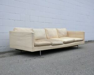 Mid Century Milo Baughman For Thayer Coggin Four Seater Sofa