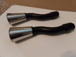 New 1964 1966 Ford Mustang Gt Dual Exhaust S S Tips