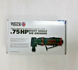 Matco Tools 75 Hp Right Angle Die Grinder Mt4883 New