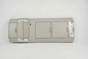 2007 13 Toyota Tundra Overhead Console With Storage Compartments Mic Map Lights