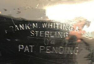 Frank M Whiting Sterling Silver Wine Coaster 3 75
