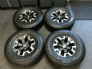 Brand New 16 Toyota Tacoma Oem Trd Off Road Wheels Goodyear Kevlar Tires