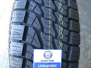 4 New 255 70r16 Lion Sport At Tires 255 70 16 R16 2557016 At All Terrain A t 70r
