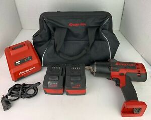 Snap On Ct8850 18v 1 2 Drive Cordless Impact Wrench Bundle