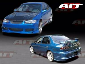 2001 2002 Toyota Corolla Bmx Style Full Body Kit By Ait Racing 100 Authentic