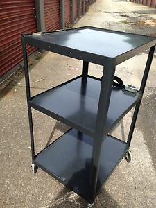 Pixmobile Av series 3 Tier Av Mobile Av Cart