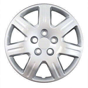 New Set Of 4 16 Inch Silver 7 Spoke Aftermarket Wheel Covers