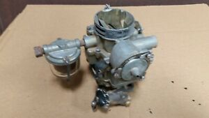 1954 1955 1956 Buick 264 322 Stromberg 2 Barrel Carburator Oem