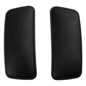 Brand New Arm Pads Caps Replacement For Haworth Zody Office Chair Black 1 Pair