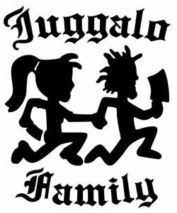Juggalo Juggalette Hatchetman Icp Family Vinyl Decal Car Wall Truck Sticker