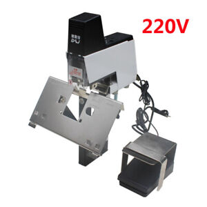 220v Electric Stapler Flat And Saddle Binder Machine Book Binding Machine Us