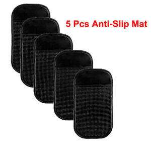5 Pcs Nano Car Magic Anti Slip Phone Hold Dashboard Sticky Pad Non Slip Mat