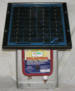 Used Southern States Model 400 lisolar Powered Electric Fence Charger No Battery
