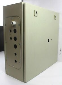 Rittal Ae 1050 Wall Mount Industrial Enclosure W Back Plate