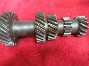 1966 Saginaw 4 Speed Cluster Gear 1st Design Awt302 8a 25 25 19 15 15