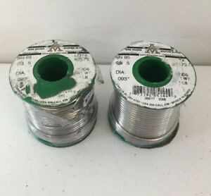 2lb Lot Sn95 sb5 Lead free Solder Wire 093 Diameter Aim