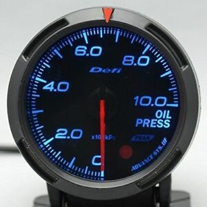 Defi Gauge Car Oil Pressure Meter 2 5 Inch 60mm