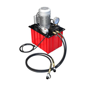 Electric Double Acting Hydraulic Pump 70 Mpa Pneumatic Hydra Valve Power Unit
